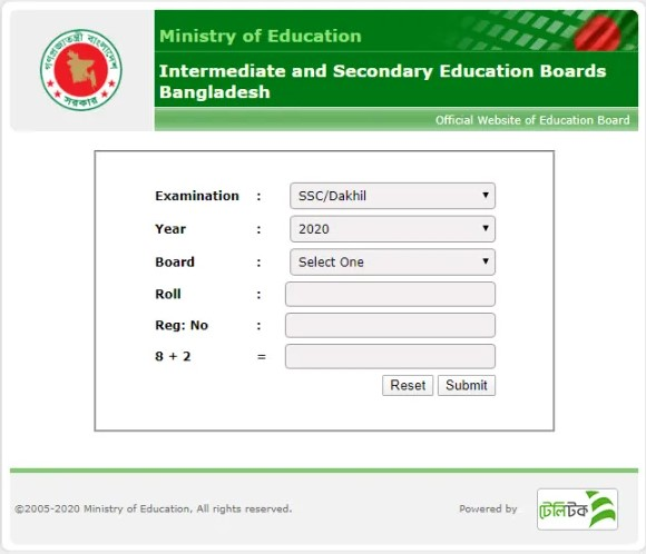 SSC Exam Result 2020 Published Date – Of All Education Board